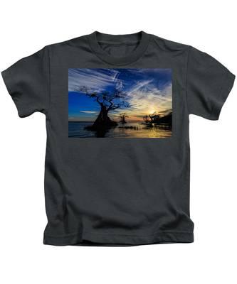 Lake Disston Sunset Kids T-Shirt