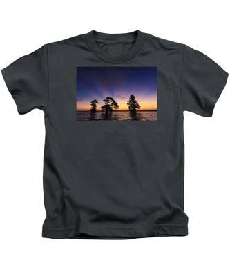 Lake Istokpoga Sunrise Kids T-Shirt