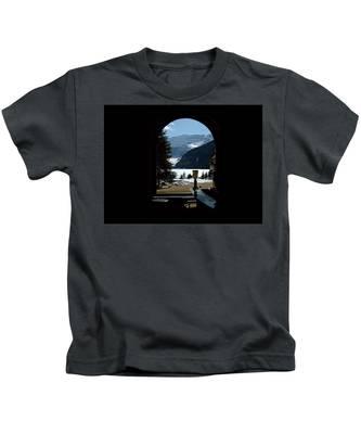 Lake Louise Inside View Kids T-Shirt