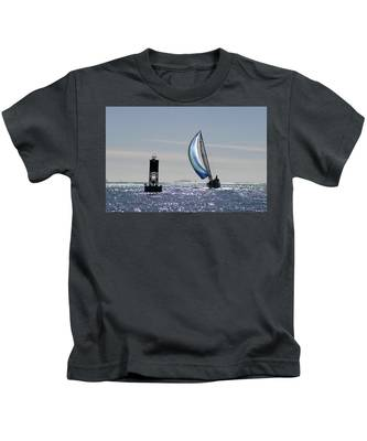 Late Afternoon Sail Kids T-Shirt