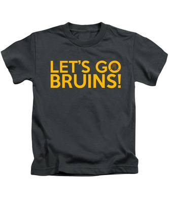 Let's Go Bruins Kids T-Shirt