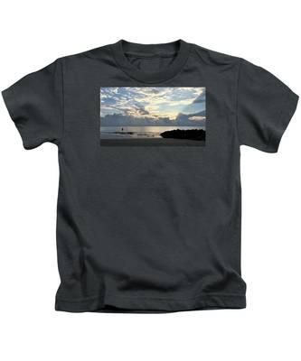 Lone Fishing Kids T-Shirt