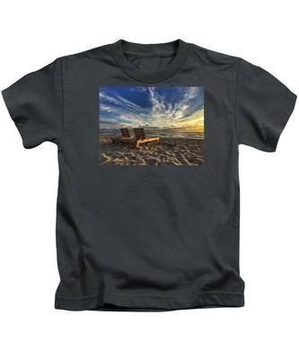Lounging For 2 Kids T-Shirt