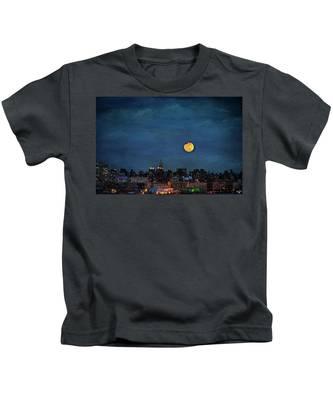 Manhattan Moonrise Kids T-Shirt