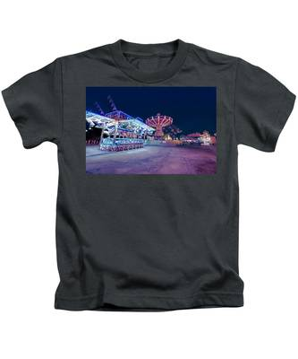 Merry Go Creepy Kids T-Shirt