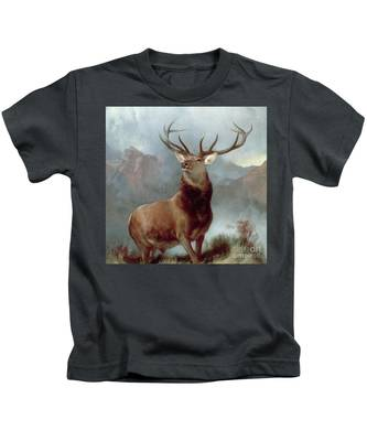 Monarch Of The Glen Kids T-Shirt