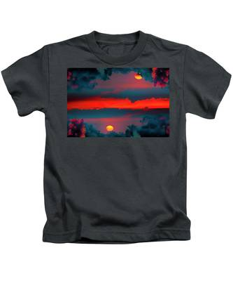 My First Sunset- Kids T-Shirt