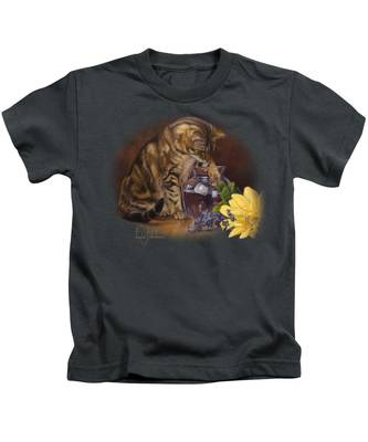 Flowers In Vase Kids T-Shirts