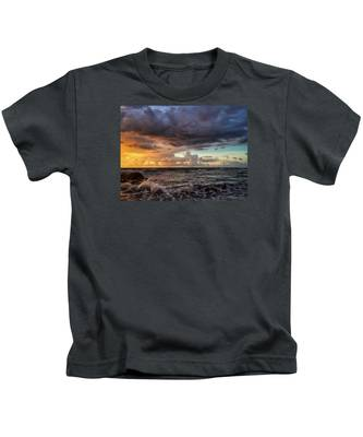 Purple Sky Kids T-Shirt