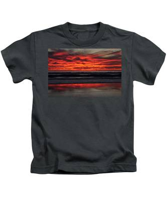Kids T-Shirt featuring the photograph Reflection by Bridgette Gomes