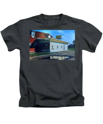 Reflections Of A Diner Kids T-Shirt