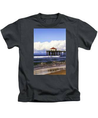 Reflections On The Pier Kids T-Shirt