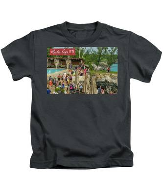 Rick's Cafe In Negril, Jamaica Kids T-Shirt