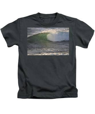 Kids T-Shirt featuring the photograph Rip Curl by Bridgette Gomes