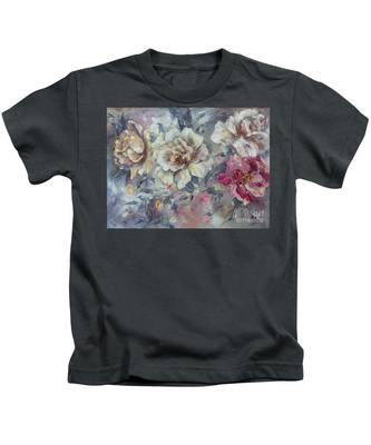 Roses From A Friend Kids T-Shirt