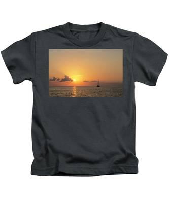 Crusing The Bahamas Kids T-Shirt