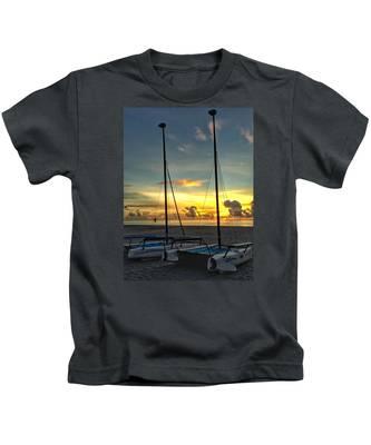 Sailing Vessels  Kids T-Shirt