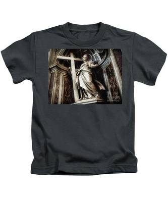 Saint Helena Statue Inside Saint Peter S Basilica Rome Italy Kids T-Shirt