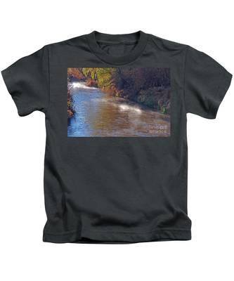 Santa Cruz River - Arizona Kids T-Shirt