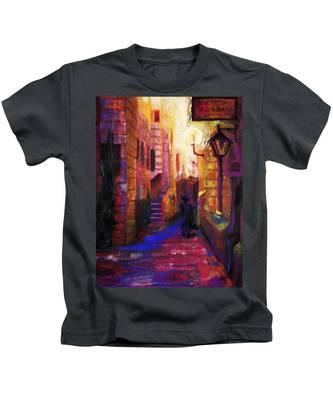 Shabbat Shalom Kids T-Shirt