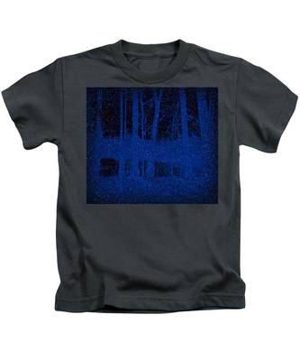 Snowfall Kids T-Shirt