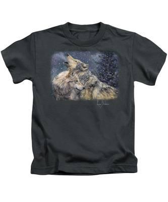 Snowfall Kids T-Shirt