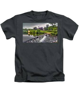 Spillway At Grace Lord Park, Boonton Nj Kids T-Shirt