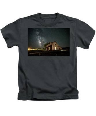 Star Valley Cabin Kids T-Shirt