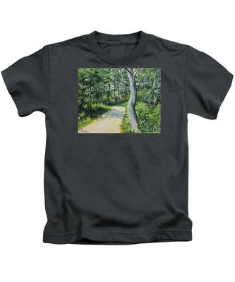Start Of The Trail Kids T-Shirt
