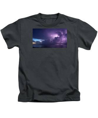 Sunrise Thunderstorm Kids T-Shirt