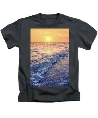 Sanibel Florida Beach Sunset Surfer Toddler//Kids Sweatshirt