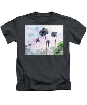Swaying Palms Kids T-Shirt