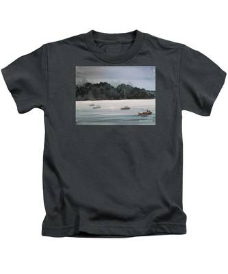 The Boat Ride Kids T-Shirt