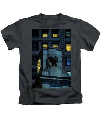 The Herald Square Owl Kids T-Shirt