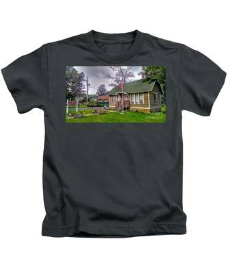 The Old Library At Beavertown Kids T-Shirt