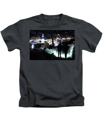 The Walk Into Town- Kids T-Shirt