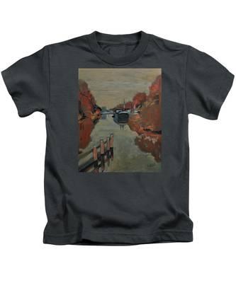 Towards Pius Harbour Kids T-Shirt