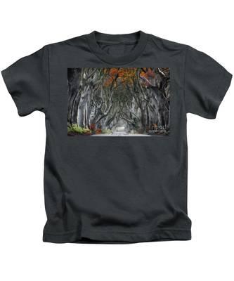 Trees Embracing Kids T-Shirt