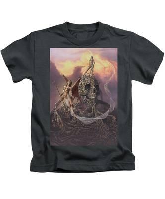 Vampis Lair Kids T-Shirt