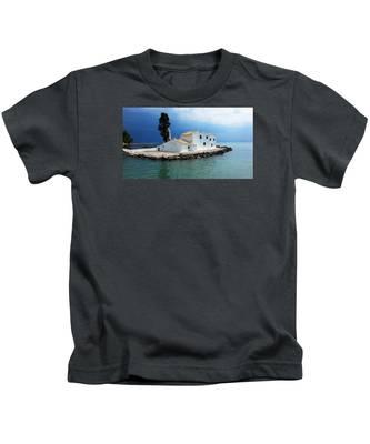 Vlachurna Monastry Kids T-Shirt