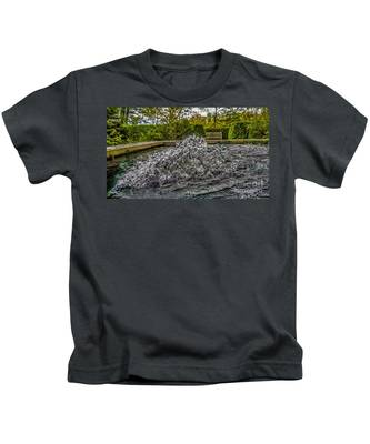 Water In Motion Kids T-Shirt