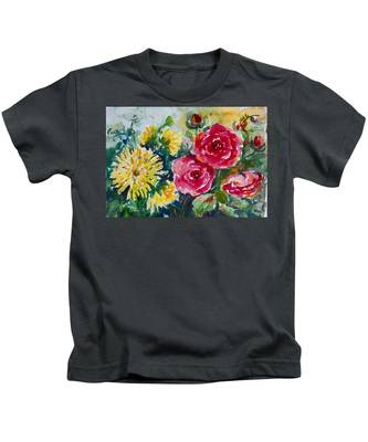 Watercolor Series No. 212 Kids T-Shirt