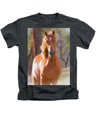 A Horse Kids T-Shirt