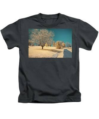 A Mustard World Kids T-Shirt