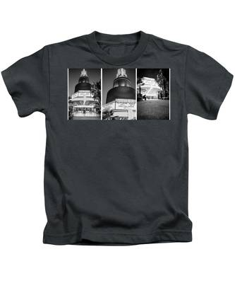 Black And White Triptych- Kids T-Shirt
