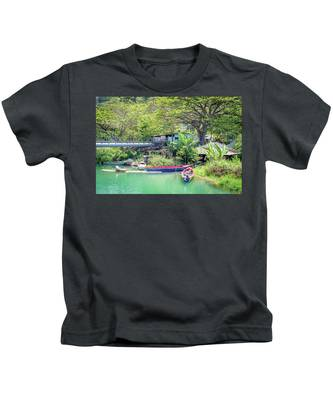 Boat And Rafting Tours Kids T-Shirt
