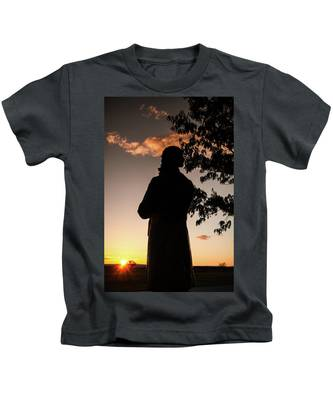 Corby At Sunset Kids T-Shirt