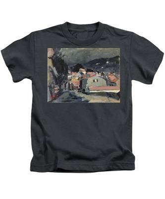 Early Morning Stars In Loggos Kids T-Shirt
