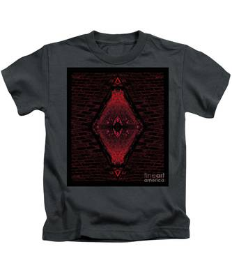 Eye Of Time Kids T-Shirt