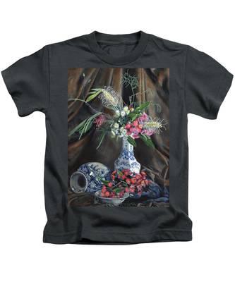 Floral Arrangement Kids T-Shirt